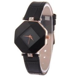 Reloj de pulsera para Mujer Corte de gema Negro