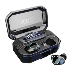 Audifonos Inhalambricos tactiles X6 Pro Max Negro Bluetooth